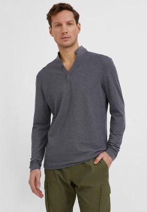 Polo - dark grey melange