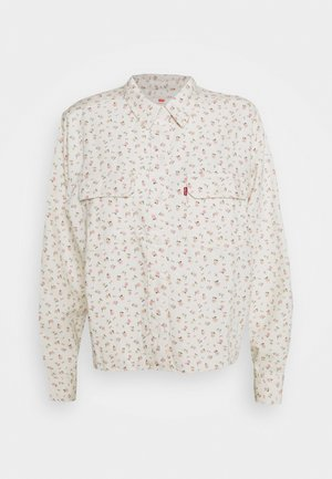 OLSEN UTILITY - Button-down blouse - off-white