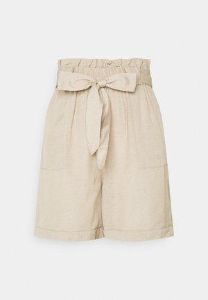 ONLSMILLA VIVA LIFE LONG BELT  - Shorts - humus
