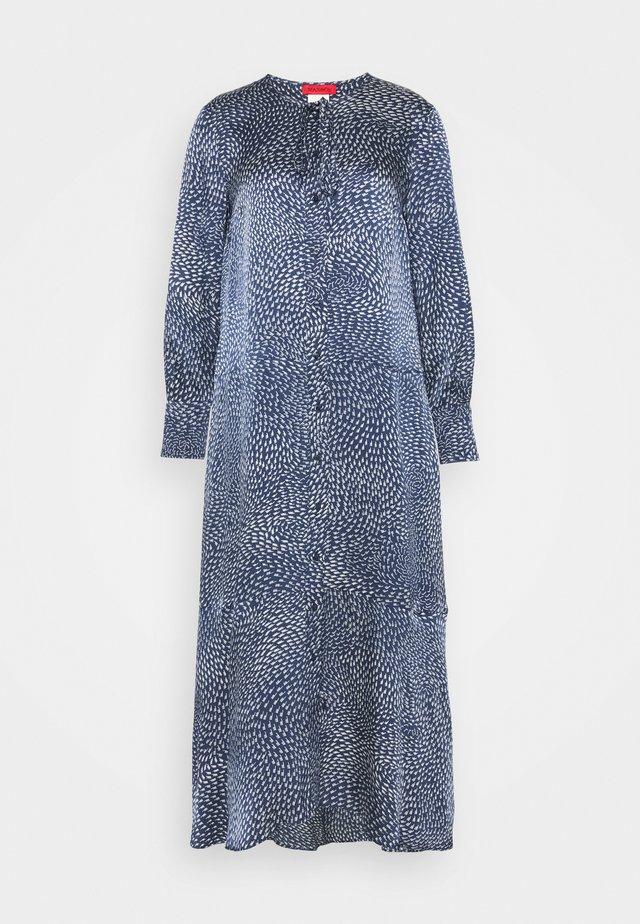 OSTUNI - Skjortekjole - navy blue