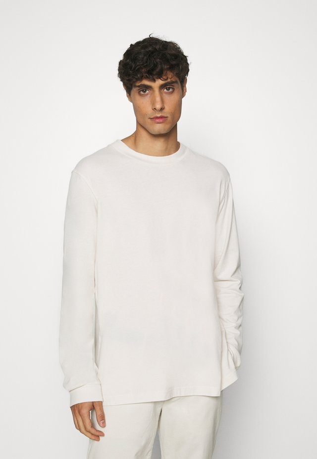 LONG SLEEVE TOP - Long sleeved top - beige dusty light