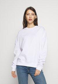 Even&Odd - BASIC - Crew Neck - Sweatshirt - white - 0