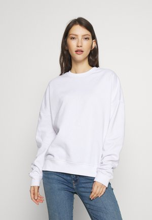 BASIC - Crew Neck - Sweatshirt - white