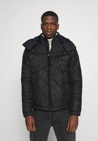 G-Star - ATTACC HEATSEAL QUILTED - Light jacket - namic heatpress padded black - 0