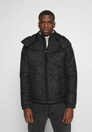 ATTACC HEATSEAL QUILTED - Light jacket - namic heatpress padded black