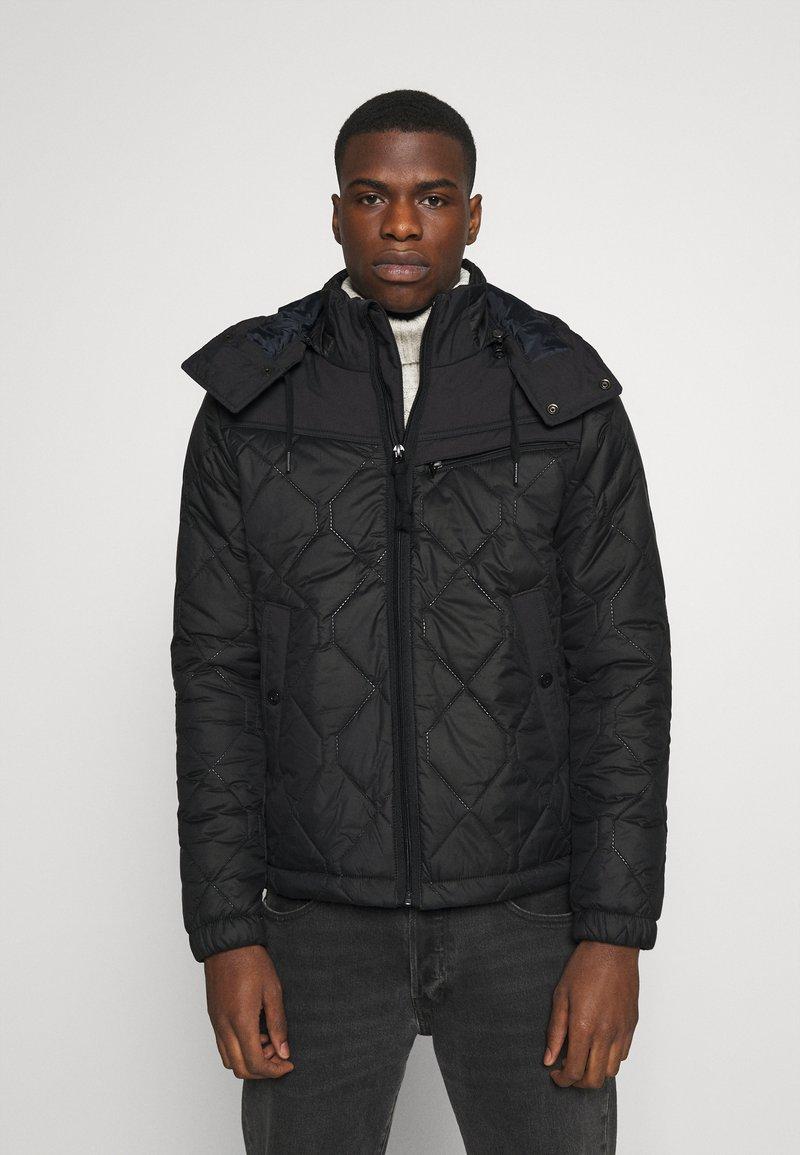 G-Star - ATTACC HEATSEAL QUILTED - Light jacket - namic heatpress padded black