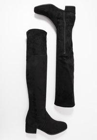 Tamaris - BOOTS - Høye støvler - black - 3
