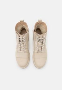 Steven New York - HAVARLY - Lace-up ankle boots - beige - 5