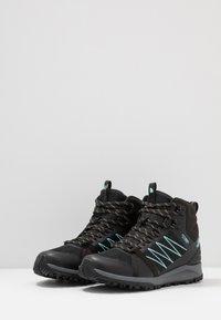 The North Face - Hiking shoes - black/aqua splash - 2