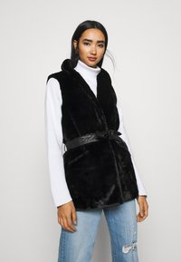 ONLY - ONLOLLIE WAISTCOAT - Waistcoat - black - 0