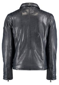 DNR Jackets - Leather jacket - dark blue - 1