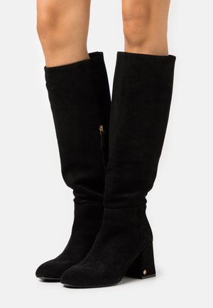 KIRA KNEE BOOT - Støvler - perfect black