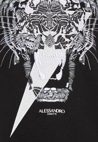Alessandro Zavetti - TIGERBOLT HOODIE - Hoodie - black - 5