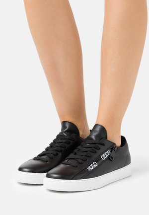 DEVA LACE UP ZIP - Trainers - black
