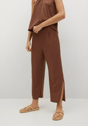 Trousers - marron