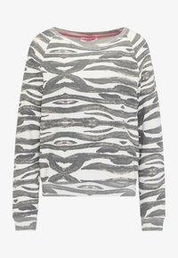 Frieda & Freddies - SWEATSHIRT MIT ALLOVER-PRINT - Sweatshirt - anthracite - 0