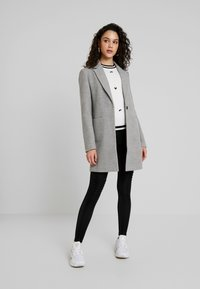 TWINTIP - Classic coat - grey melange - 1