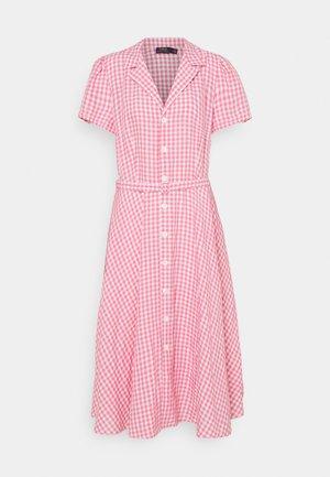 GINGHAM - Košilové šaty - ribbon pink