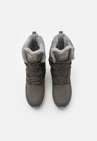 Jack Wolfskin - NEVADA TEXAPORE HIGH - Zimní obuv - dark grey/light grey - 3