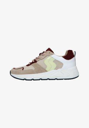 MIT FARBIGEN DETAILS - Sneakers laag - beige