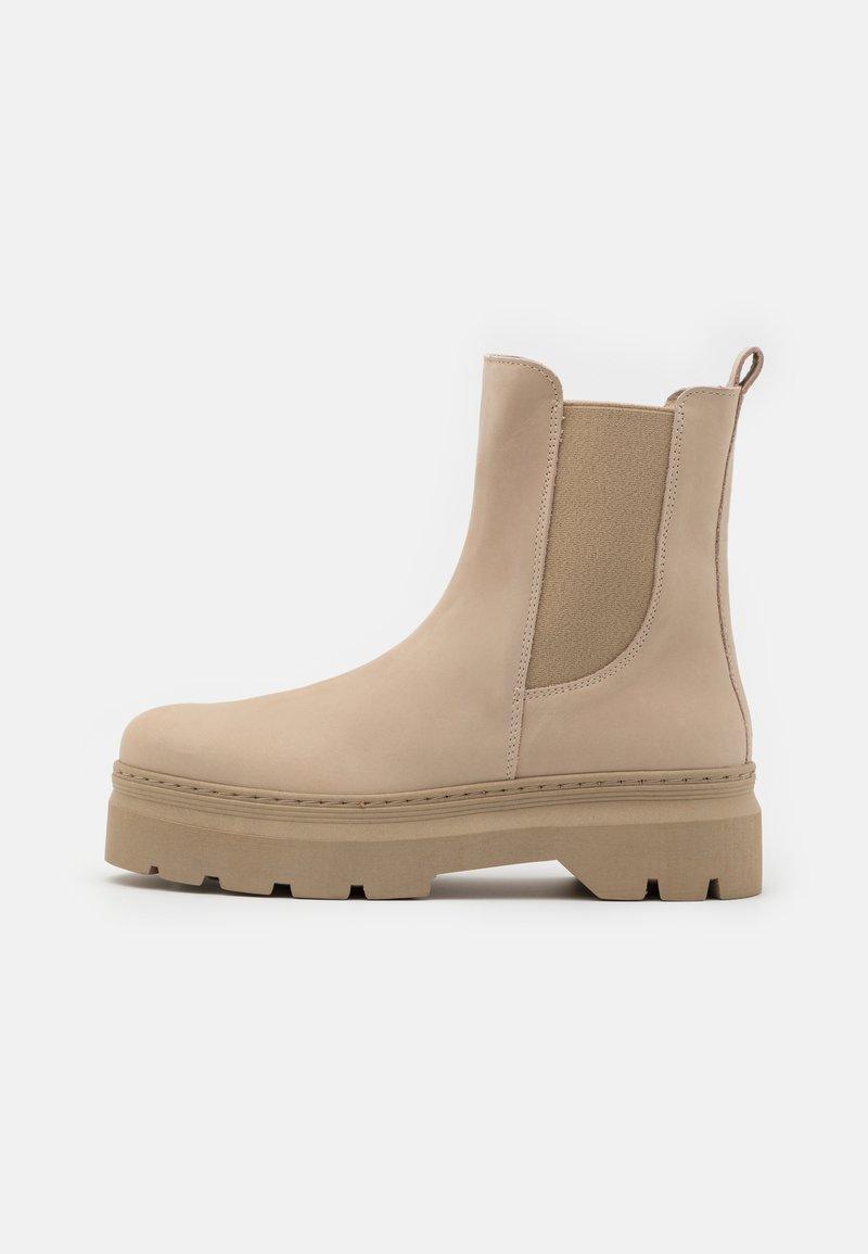 Pavement - VIOLA - Platform ankle boots - nude