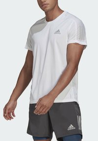 adidas Performance - OWN THE RUN - T-shirts med print - white - 5