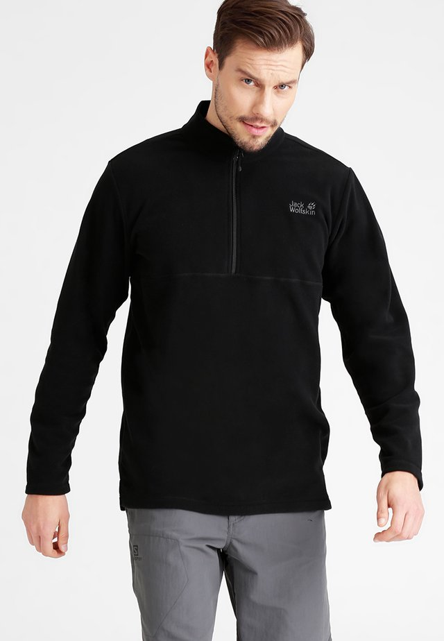 GECKO - Fleece jumper - black