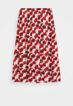 KENYA SKIRT - Maxi skirt - red