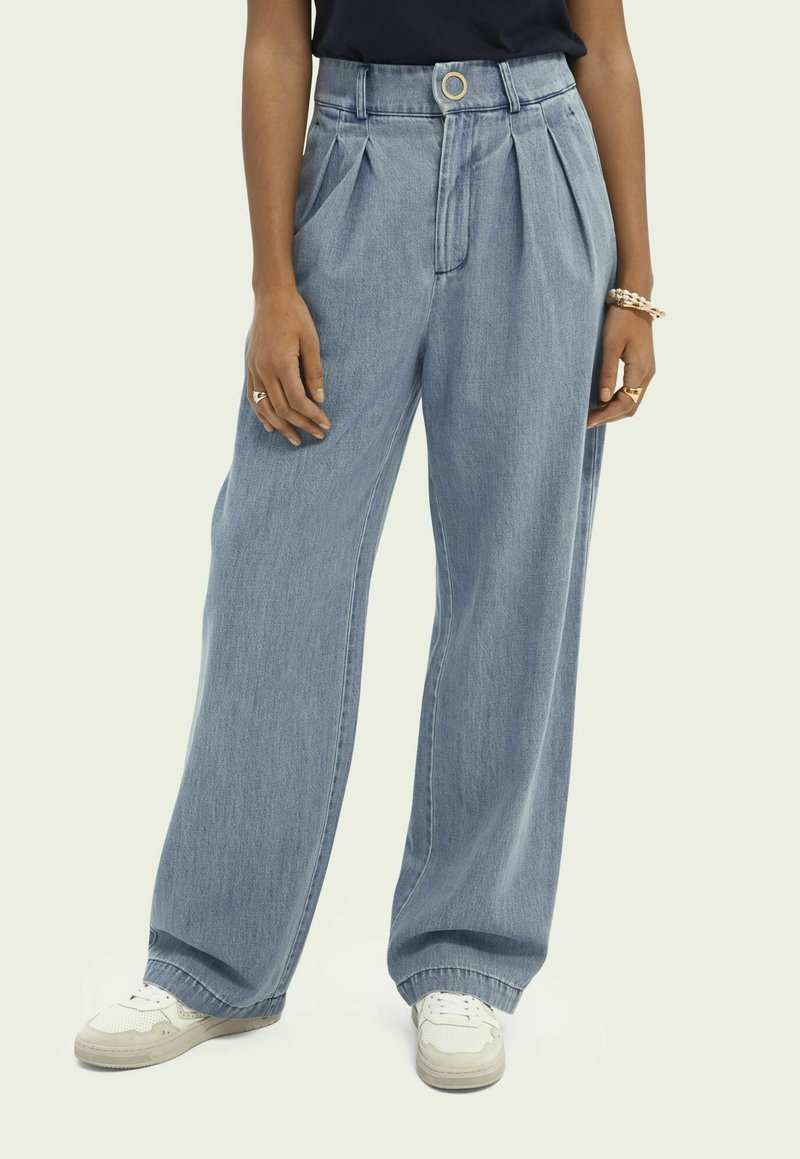 Scotch & Soda - Relaxed fit jeans - indigo