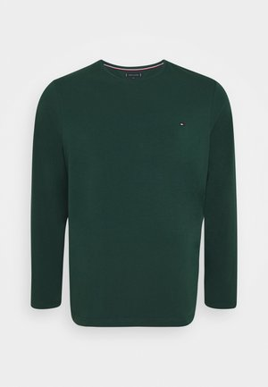 STRETCH SLIM FIT TEE - Long sleeved top - green