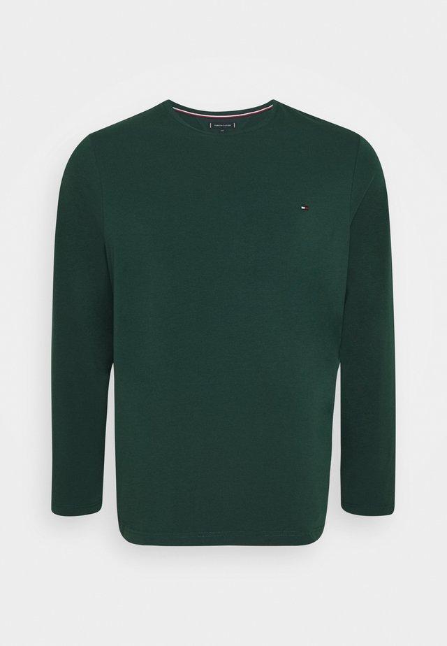 STRETCH SLIM FIT TEE - Maglietta a manica lunga - green