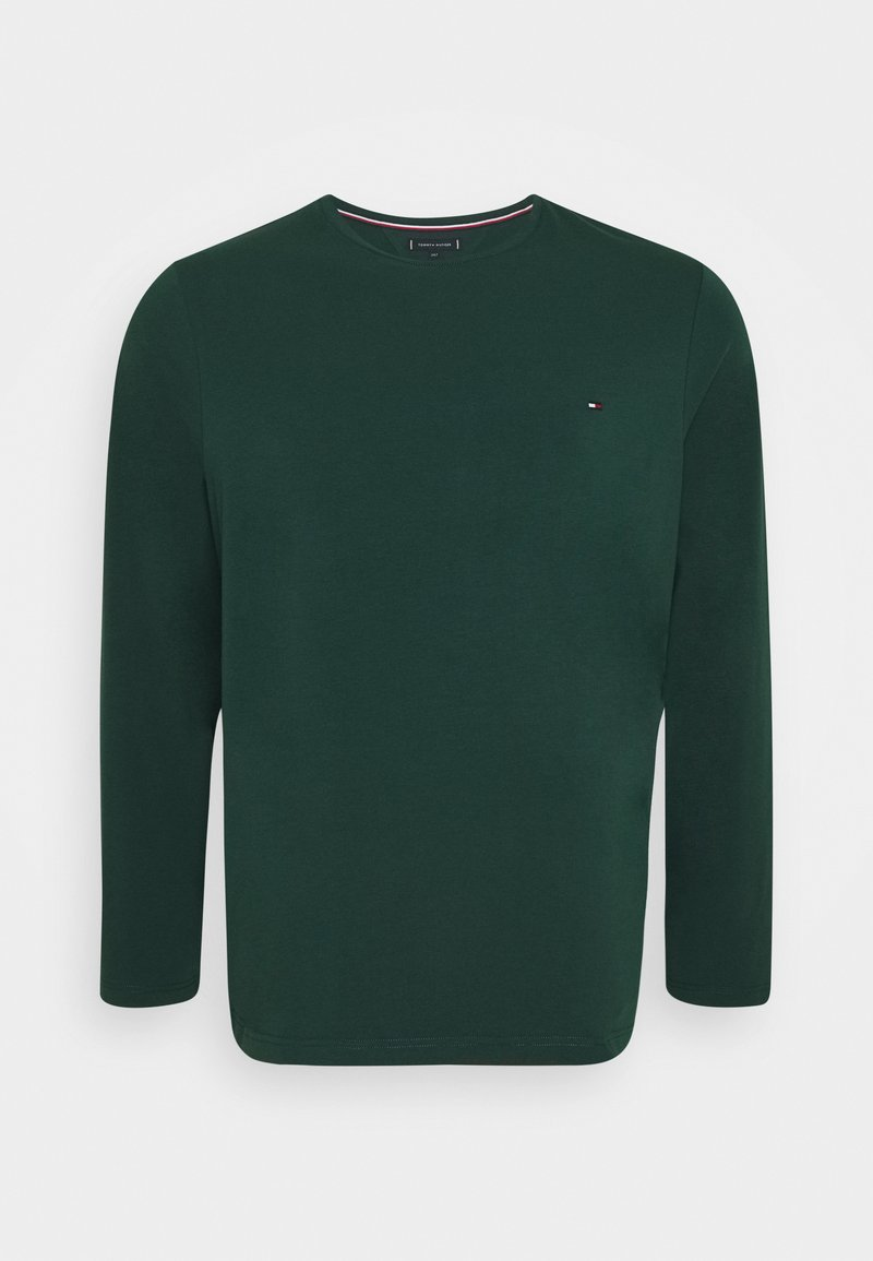 Tommy Hilfiger - STRETCH SLIM FIT TEE - T-shirt à manches longues - green