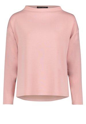 MIT HOHEM KRAGEN - Sweatshirt - mellow rose