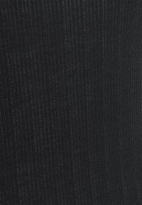 Nike Performance - POINTELLE TANK - Sportshirt - black/dark smoke grey - 5