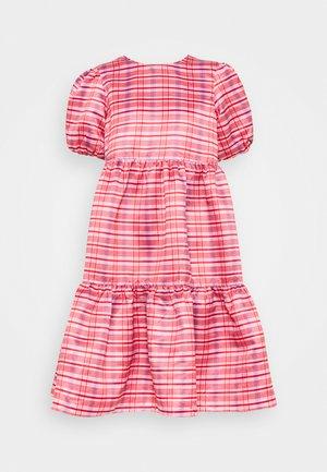 DRESS CHECK - Vestito estivo - red/pink