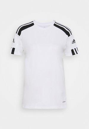 SQUADRA 21 - Printtipaita - white/black