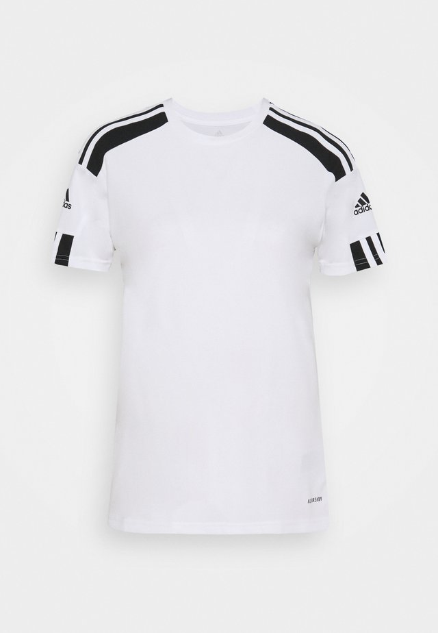 SQUAD - T-shirt con stampa - white/black