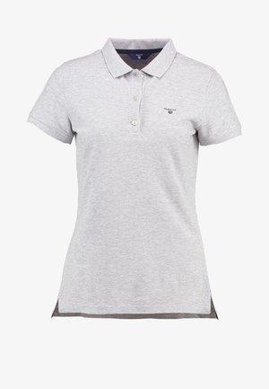 THE SUMMER - Polo shirt - light grey melange