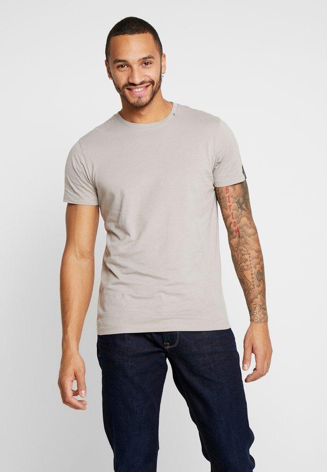 T-shirt basic - light mud