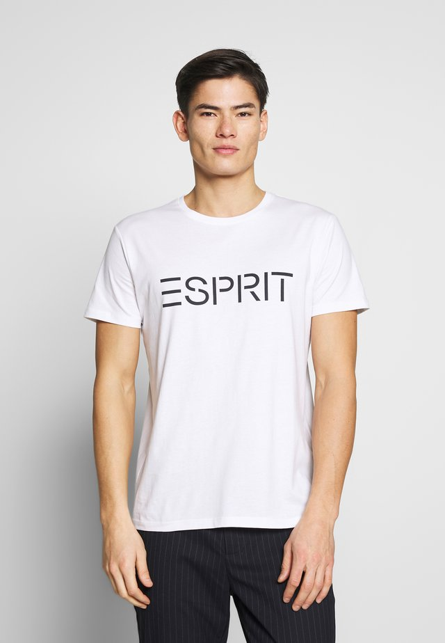 LOGO - Camiseta estampada - white