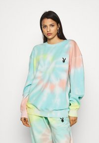 Missguided - PLAYBOY TIE DYE OVERSIZED CREW  - Sudadera - multi - 0