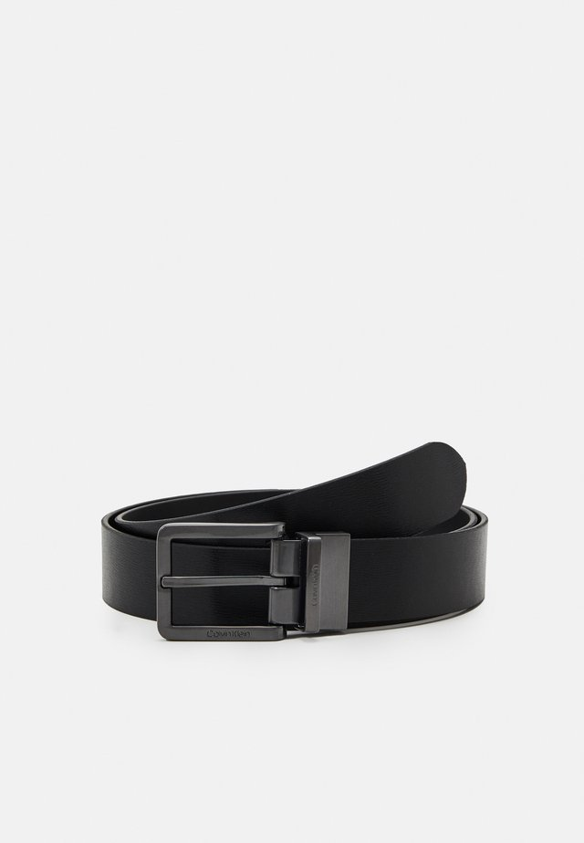 NANO PLAQUE ESSENTIAL BUCKLE SET - Pásek - black