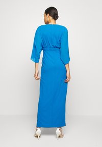 TFNC - LENNIS MAXI WRAP DRESS - Abito da sera - blue - 2