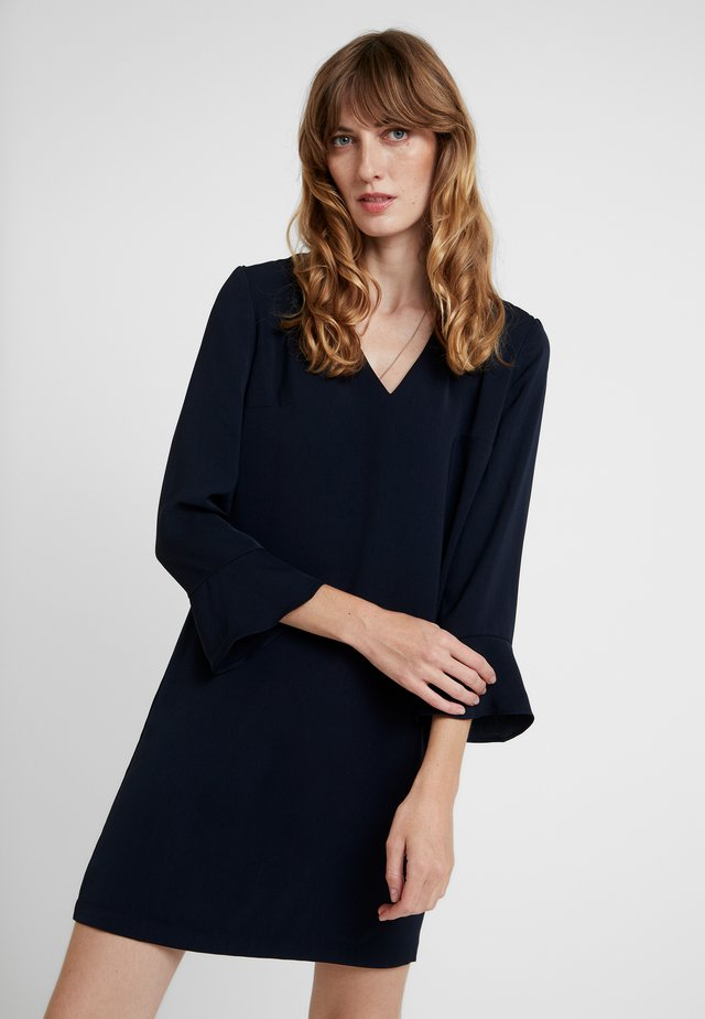 ELEGANT DRAPE - Day dress - space navy