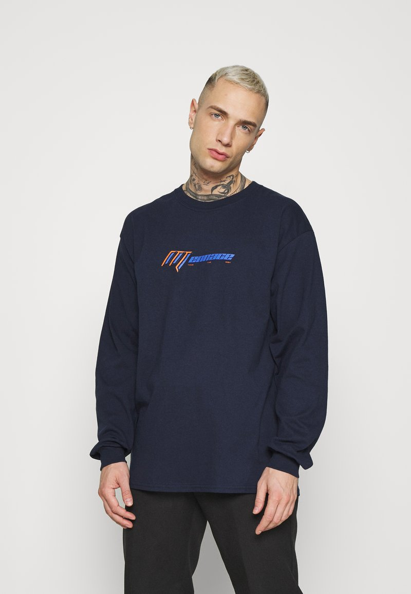 Mennace - UNISEX  - Long sleeved top - navy