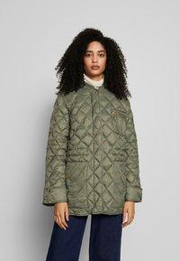 Part Two - ADDA - Classic coat - deep lichen green - 0