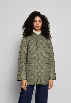 ADDA - Płaszcz wełniany /Płaszcz klasyczny - deep lichen green