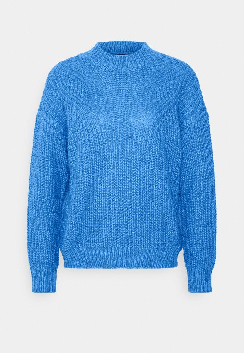 NAF NAF - SUZANNE  - Pullover - bleu pensee