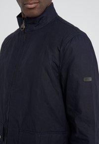 Barbour International - FARLEIGH CASUAL - Summer jacket - dark indigo - 5