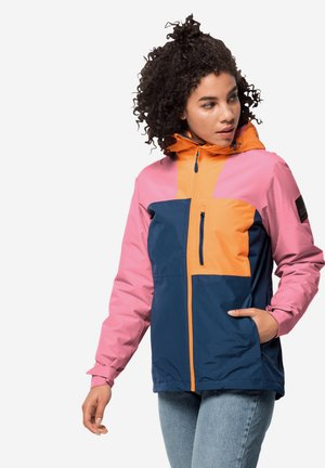 Hardshell jacket - paradise orange